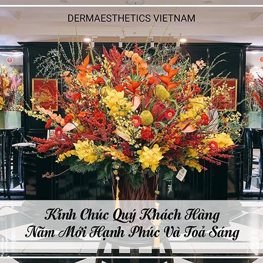 Dermaesthetics Vietnam kính chúc Khách Hàng năm mới tràn ngập niềm vui và hạnh phúc