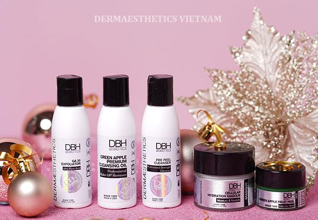 """""""Refresh"""" làn da đón mùa lễ hội với bộ sản phẩm peel da tại nhà DBH Green Apple Kit"""