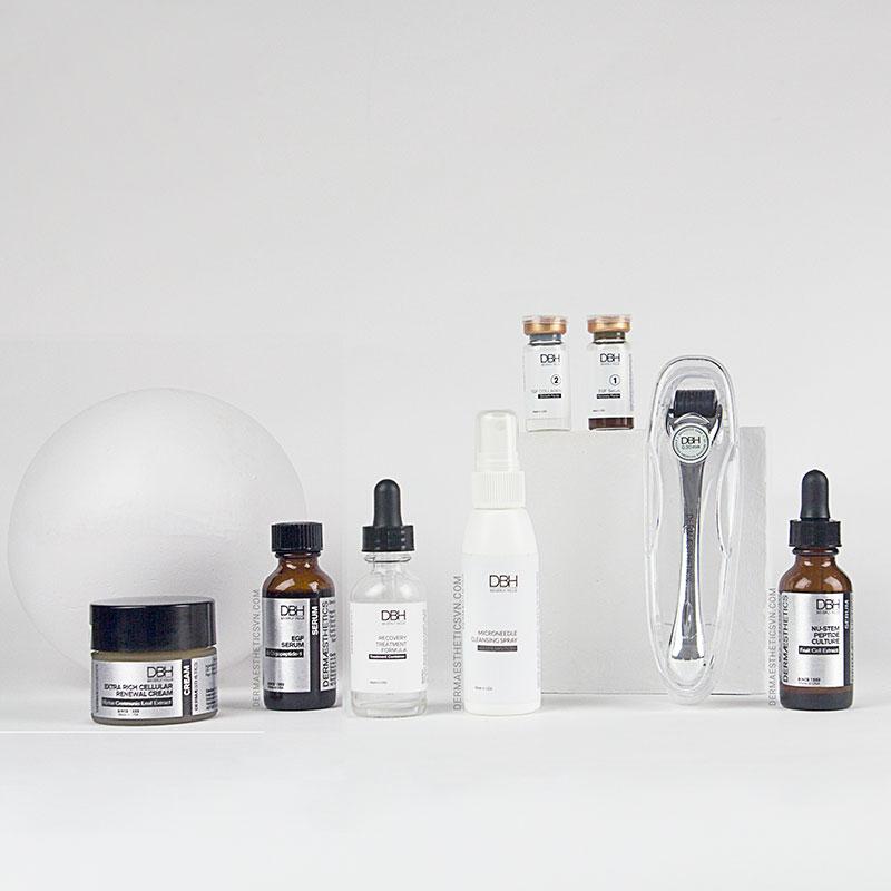 Bộ lăn kim vi điểm chuyên sâu tái tạo và phục hồi da